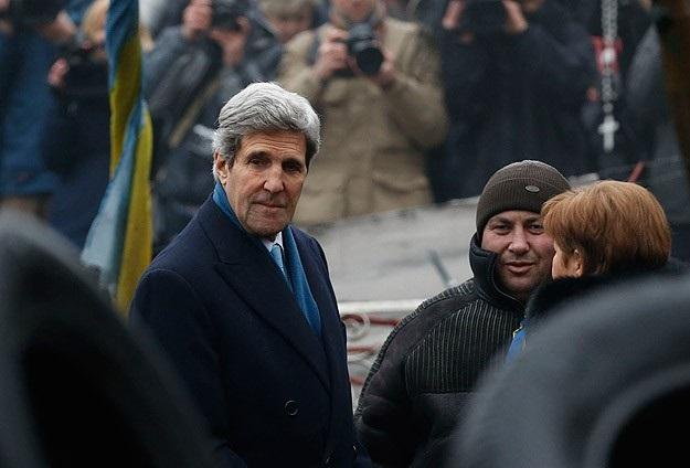 Kerry: Ukrayna halkının yanında olacağız