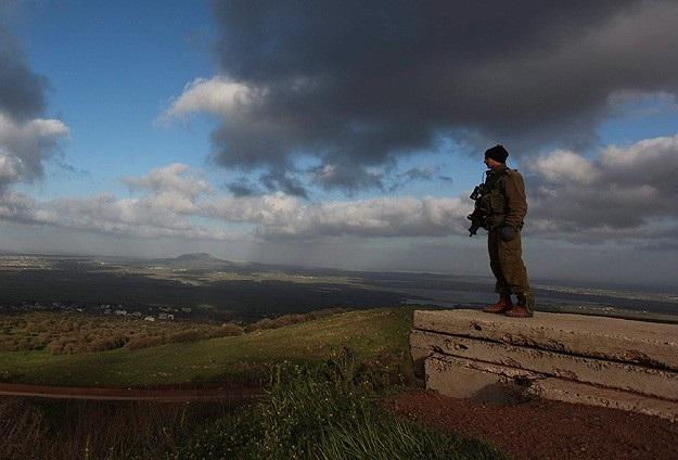 İsrail'den Golan Tepesi'ne roketli saldırı