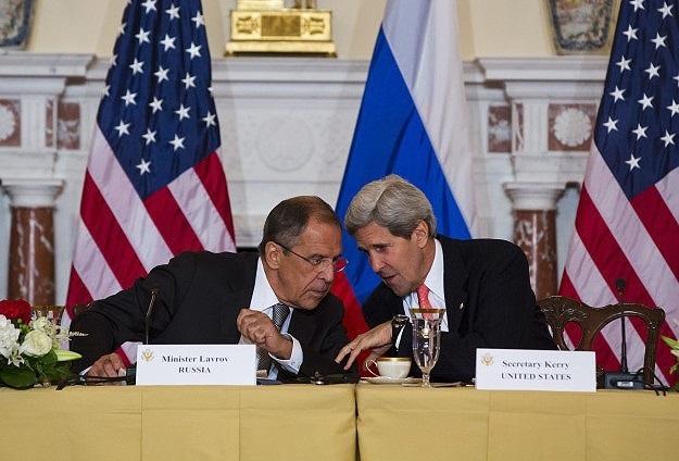 Kerry ile Lavrov Roma'da görüştü