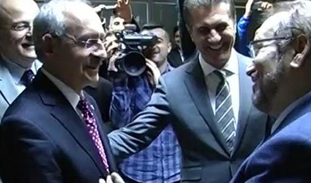 Kılıçdaroğlu ve Sarıgül, Haydar Baş'la görüştü
