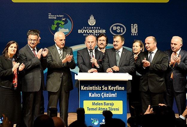 'Melen İstanbul'un 1 yıllık suyunu karşılayabilecek kapasitede'