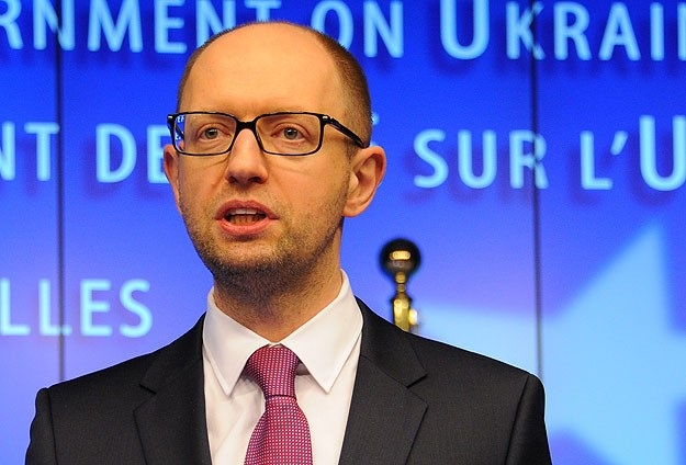 Ukrayna Başbakanı Yatsenyuk ABD'ye gitti