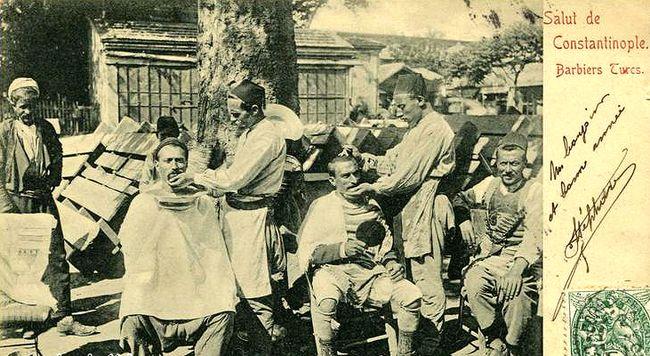 Osmanlı'da berber olmak zordu