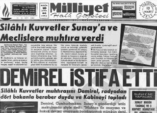 12 Mart Muhtırasına itiraz: Mecliste ordu tezkeresi okunmaz !