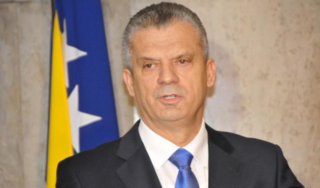 Bosna Hersek Güvenlik Bakanı hakkında görevden alma talebi