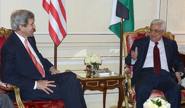 Abbas, Kerry ile görüştü
