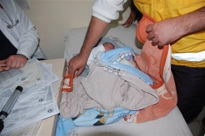 3 günlük bebek sokağa terk edildi