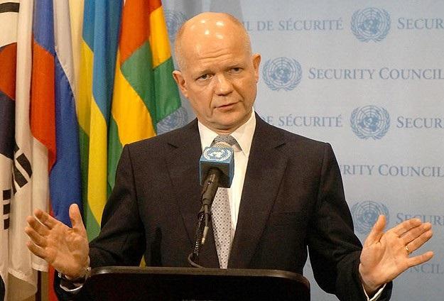 İngiltere Dışişleri Bakanı Hague Irak'ta