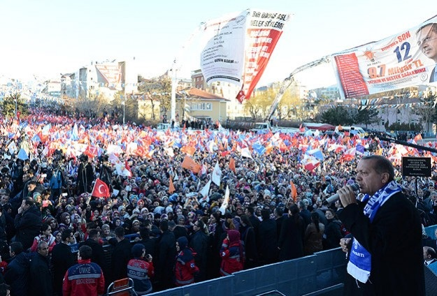 Erdoğan, Ankara'da konuşuyor-CANLI