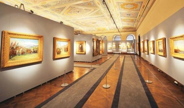 Osmanlı ve batı ressamlarının eserleri aynı müzede