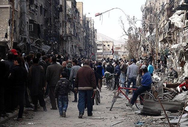 Suriye rejimi insani yardımların girişine izin vermiyor