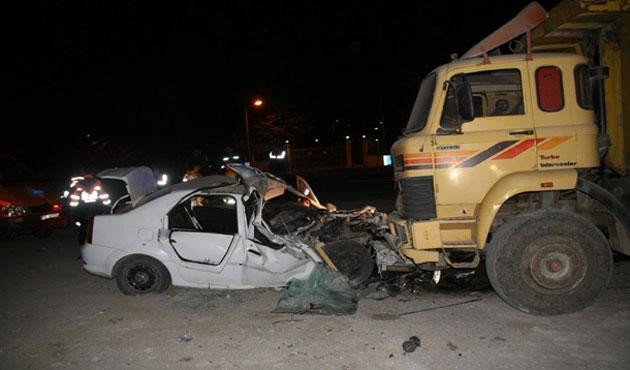 Yozgat'taki kazada dört kişi öldü