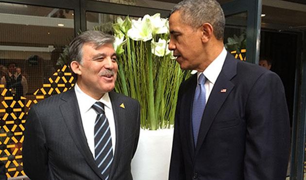 Cumhurbaşkanı Gül Obama'yla görüştü
