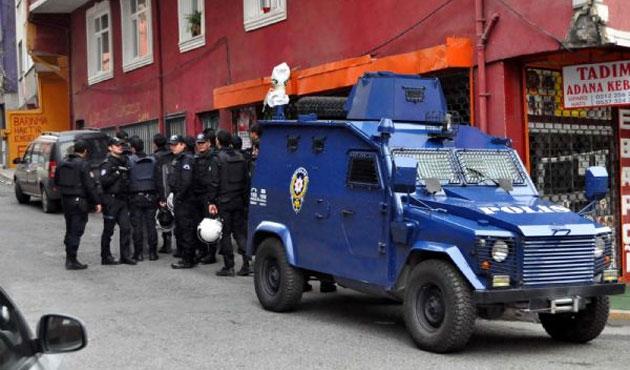 Okmeydanı'nda sekiz kişiye gözaltı