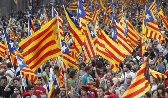 Katalonya, 'İspanya'ya rağmen' kararlı!