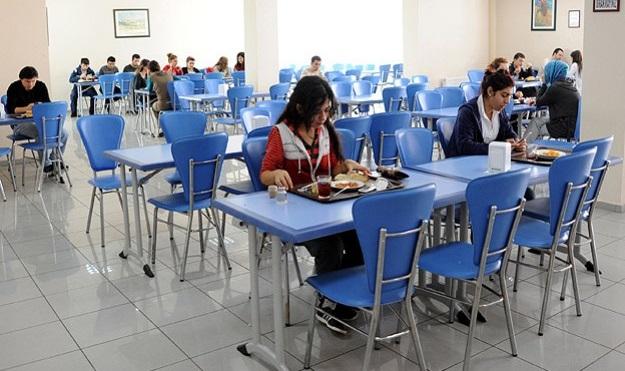 Yurtlardaki yemek saatleri uzatıldı