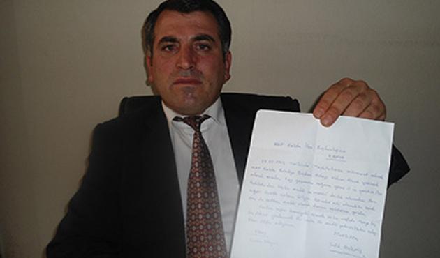 MHP'li aday 'kullanıldım' diyerek çekildi