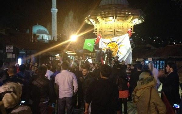 Balkanlar'da ve Gazze'de Erdoğan'ın zaferi kutlandı...