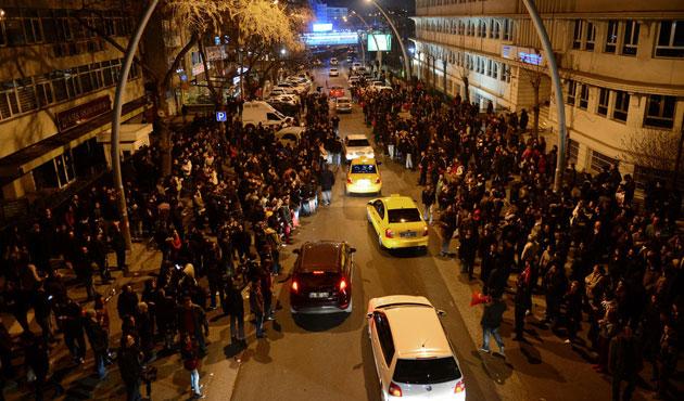 YSK önünde CHP gerilimi
