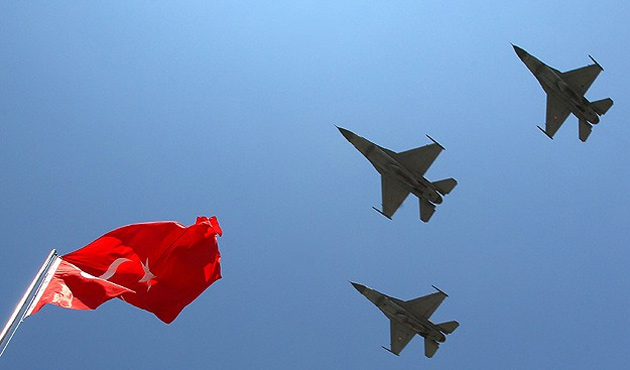 Suriye füze sistemleri yine taciz etti