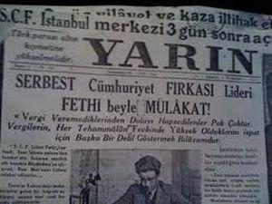 Atatürk'ten seçilmiş belediye başkanına: İstifa ediniz !