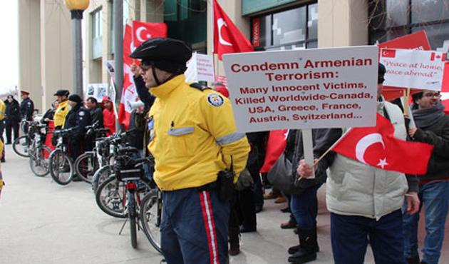 ABD'deki Türkler'den Ermeni iddialarına tepki