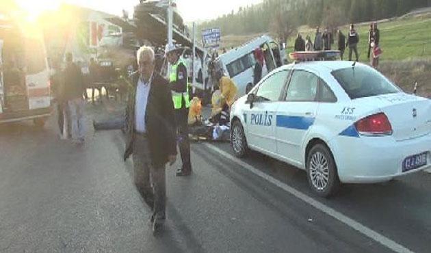 Konya'da zincirleme kazada yedi ölü