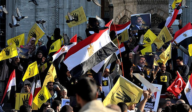 Mısır'daki idamlara karşı Ayasofya'da eylem