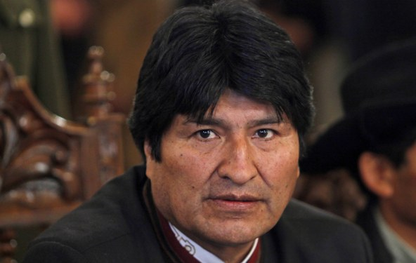 Morales, referandumda umduğunu bulamadı