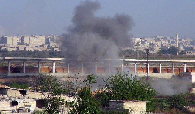 Muhaliflerden 'Esad yine zehirli gaz kullandı' suçlaması
