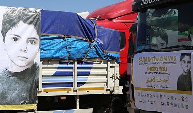 Konya'dan Suriye'ye yardım