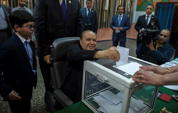 Cezayir seçimlerinde yüzde 20 katılım