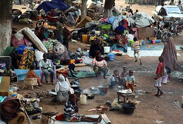 Bangui'da son 3 günde 20 kişi öldü