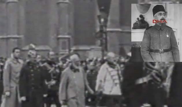 Vahdettin'in ilk kez yayınlanan görüntüsü-VİDEO