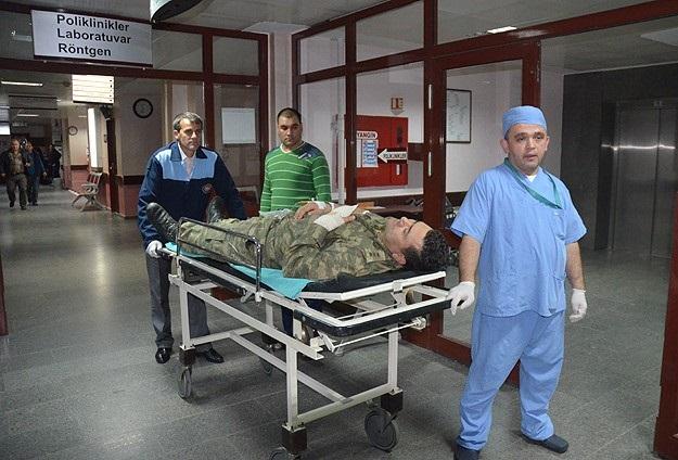 Gelibolu'da askeri birlikte patlama