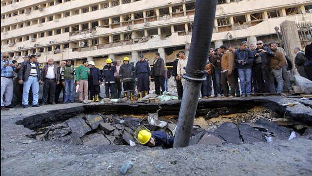 Mısır'da patlama, üst düzey polis görevlisi öldü