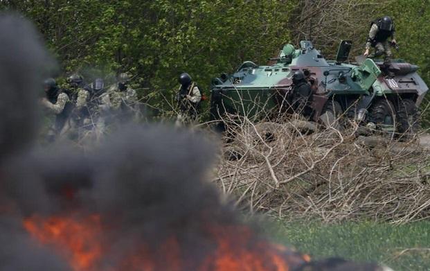 Ukrayna'da yeniden çatışmalar başladı; ölenler var
