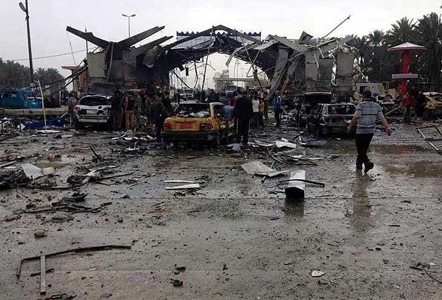 Bağdat'ta intihar saldırısı: 10 ölü