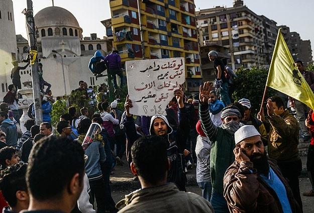 Mısırlı öğrencilerden idam kararlarına protesto
