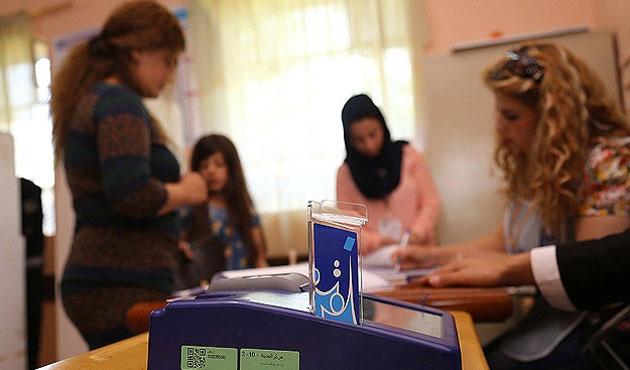 Irak'taki seçimde arıza kuyruğu