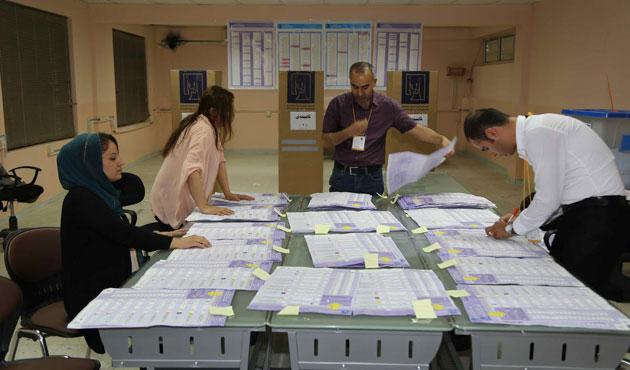 Seçimlere en yüksek katılım Kürt bölgesinde