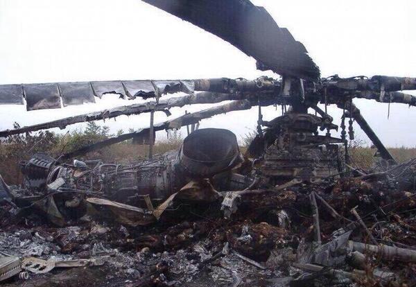 Rus yanlıları iki Ukrayna helikopterini düşürdü