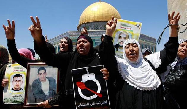 Filistinli mahkumların sağlık durumu kötüye gidiyor