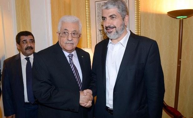 Abbas'la Meşal Doha'da bir araya geldi