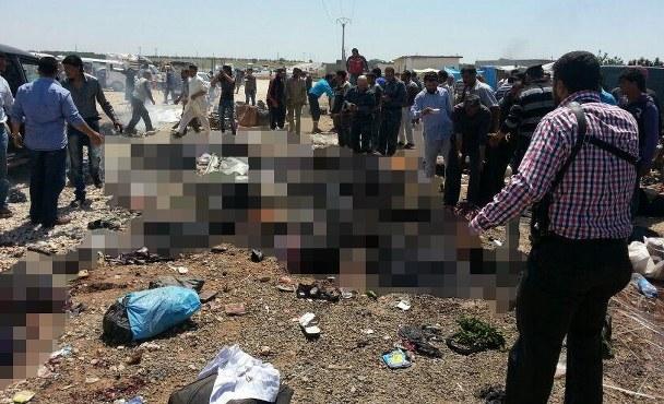 Suriye'de bomba yüklü araç infilak etti: 53 ölü