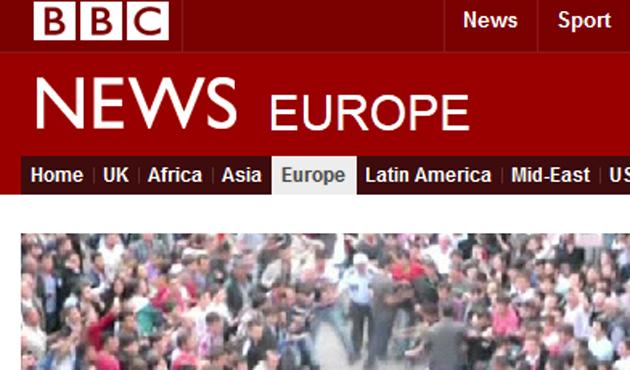 BBC'den kafa karıştıran haberler