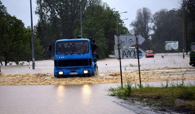 Bosna Hersek'te aşırı yağış ve sel