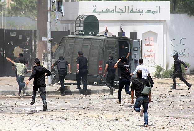 El Ezher öğrencisi biber gazından öldü