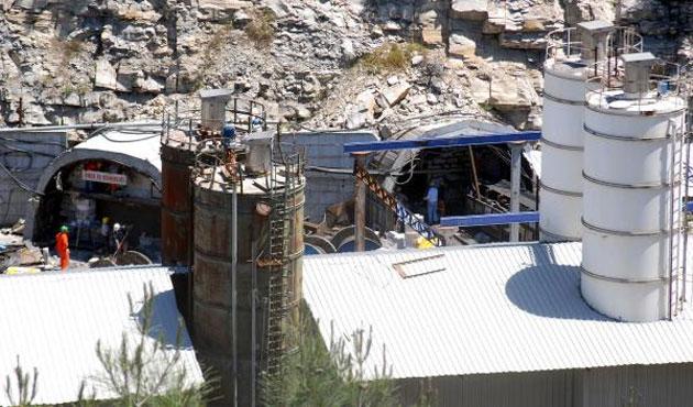Soma'daki madenin iki girişi duvarla kapatıldı