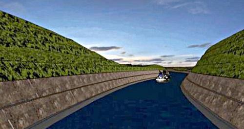 Kanal İstanbul projesi tamamlandı